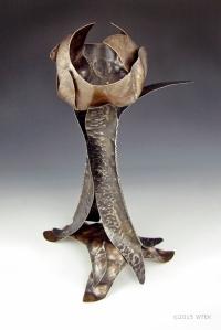 Trophy of Kaat Lir ©2015 WTEK nickel, brass