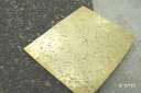 Shingle Textured Brass