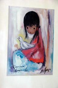 print by Degrazia