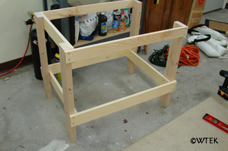 workbench leg construction