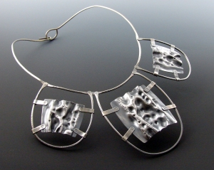 Winter Collar ©2009 WTEK sterling silver $1200.00
