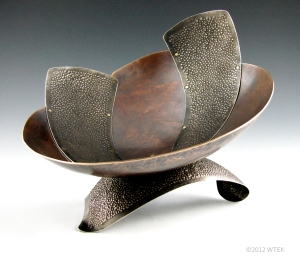 Ngaru ©2012 WTEK bronze, nickel, brass