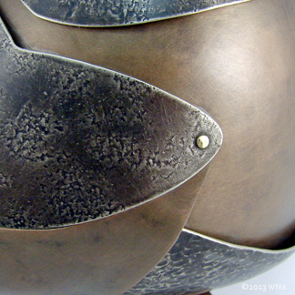 Lorica ©2012 bronze, nickel, brass