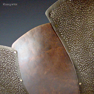 Ngaru ©2012 bronze nickel, brass