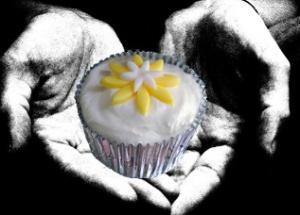 5th blog cupcake