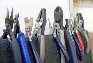 My pliers section