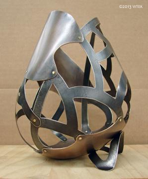 TADA! The vessel in all it's glory! ©2013 WTEK bronze, nickel, brass