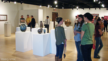 Modern Makers Opening at Kutztown University.