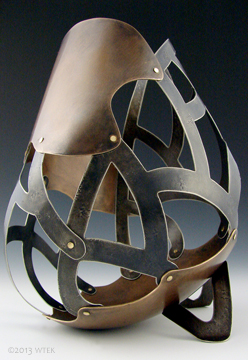 Tether ©2013 WTEK bronze, nickel, brass