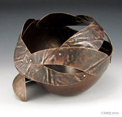 Maelstrom ©2013 copper, brass