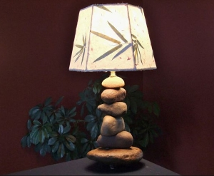 Cairn Lamp by Don Kensinger