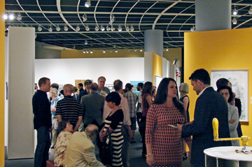Another packed opening at this year's Art of the State exhibition