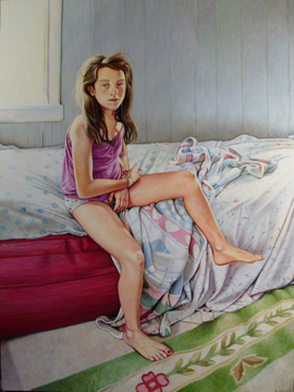 "Summer Morning ©2012 Eleanor Day  oil on canvas 36"" x 48"""