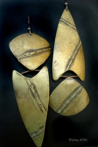 I wanted these to be pointing in two different directions ©2014 WTEK Brass