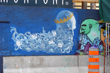 rue Sainte-Catherine graffiti panel 1