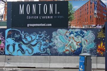 rue Sainte-Catherine graffiti panel 3