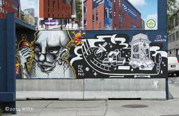 rue Sainte-Catherine graffiti panel 4