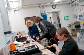 View of (most of) our Rivet Pendant Workshop