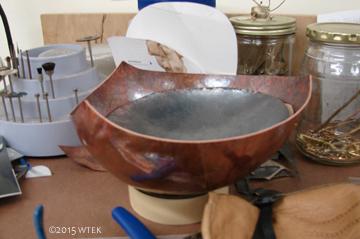 "Still unfinished ""teapot"" ©2015 WTEK"