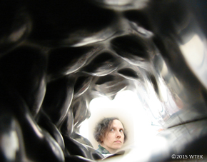 A shot of the inside. Wait, is that me? Am I looking through a wormhole at myself 10 minutes ago? ©2015 WTEK