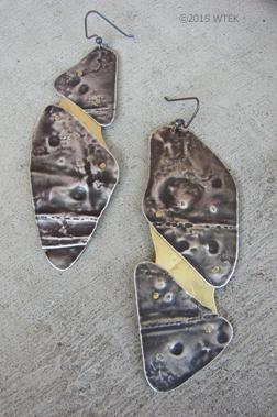 Earrings close-up ©2015 WTEK