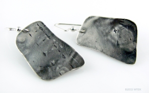 Sterling Silver Earrings ©2015 WTEK