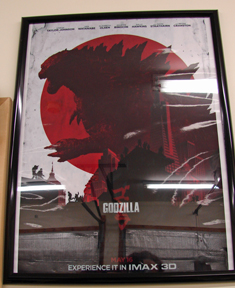 Godzilla keeps me on task...