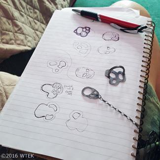 My designing process ©2016 WTEK