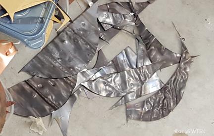 nickel scraps
