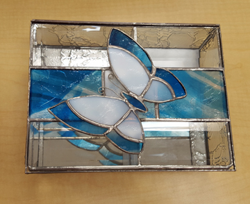 Stained Glass box by Dan Hayward