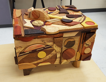 Puzzle box by Jim Whetstone - created in a similar vein to my 2015 piece Scavenger